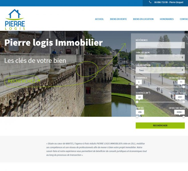 Creation site agence immobiliere